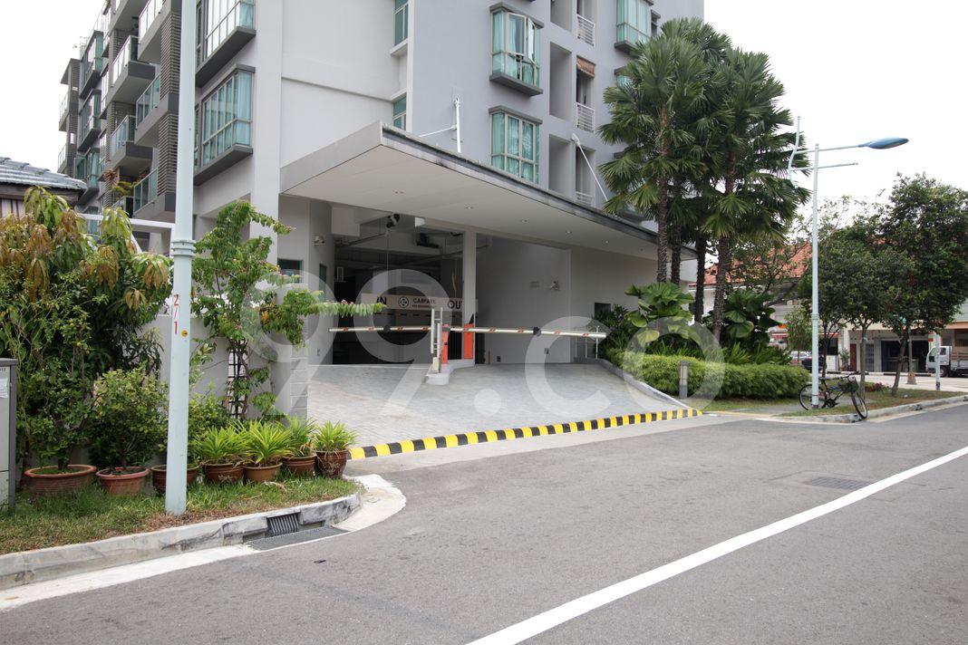 Mera East  Entrance
