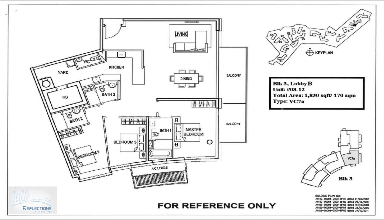 Tupe VC7a-3 Bedroom 1,830 Sqft