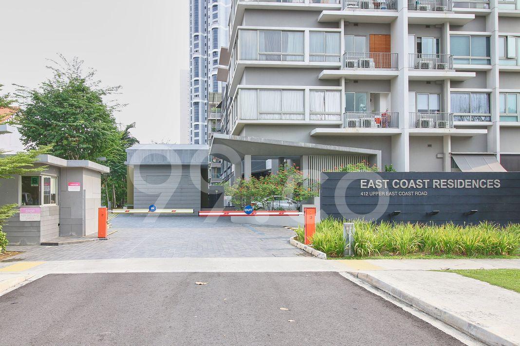 East Coast Residences  Entrance