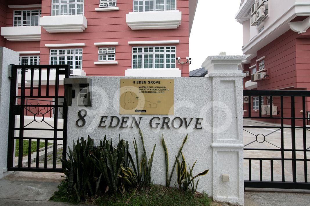 8 Eden Grove  Logo