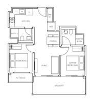 2 Bedrooms Type B2