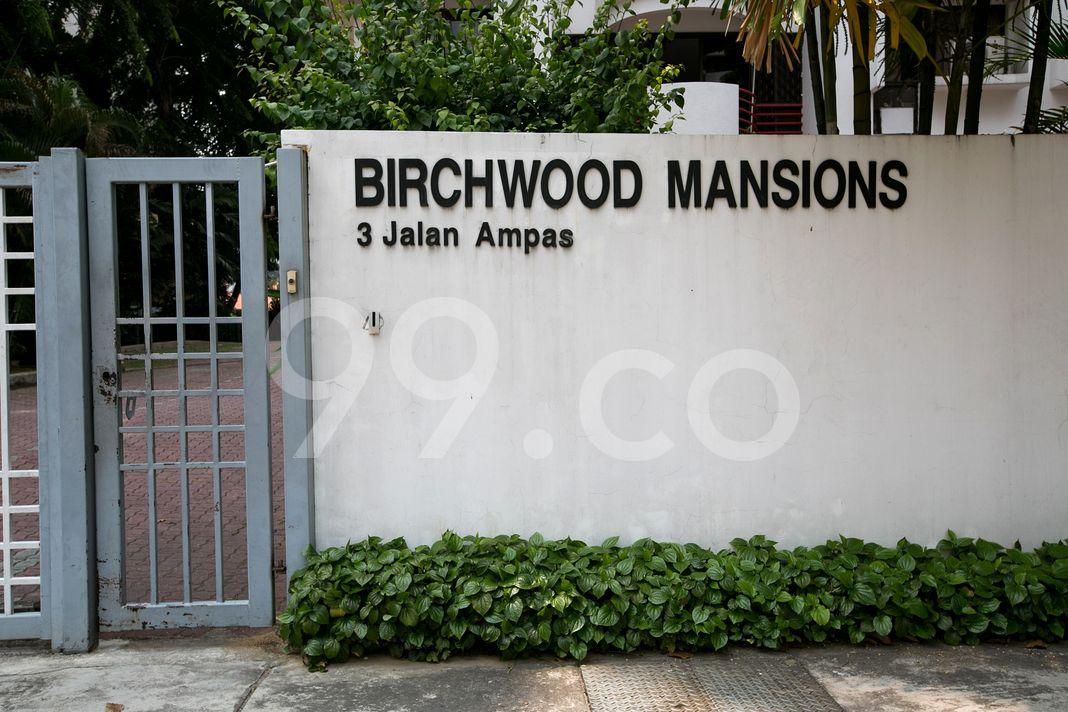 Birchwood Mansions  Logo