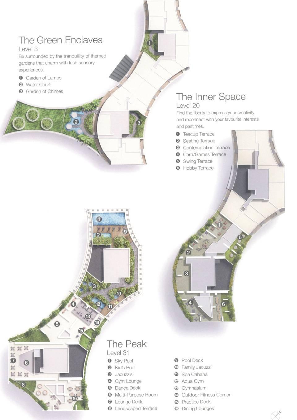 Duo Residences site plan