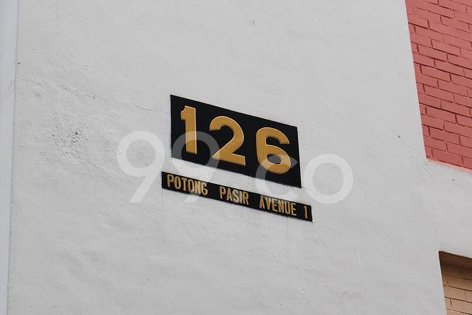 HDB-Potong Pasir Block 126 Potong Pasir