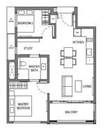 2 Bedrooms Type B12