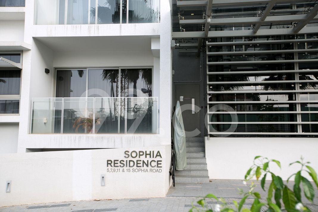 Sophia Residence  Entrance