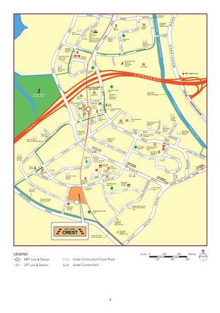 Keat Hong Crest Location Map