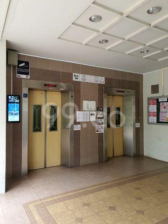 HDB-Hougang Block 168 Lift HDB-Hougang