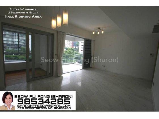 View of study room/balcony