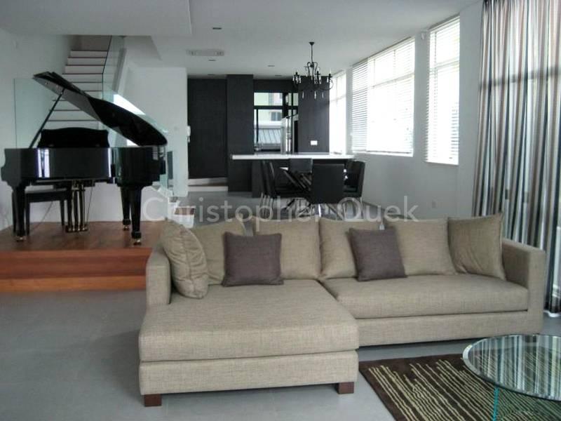 Bright open Living area.