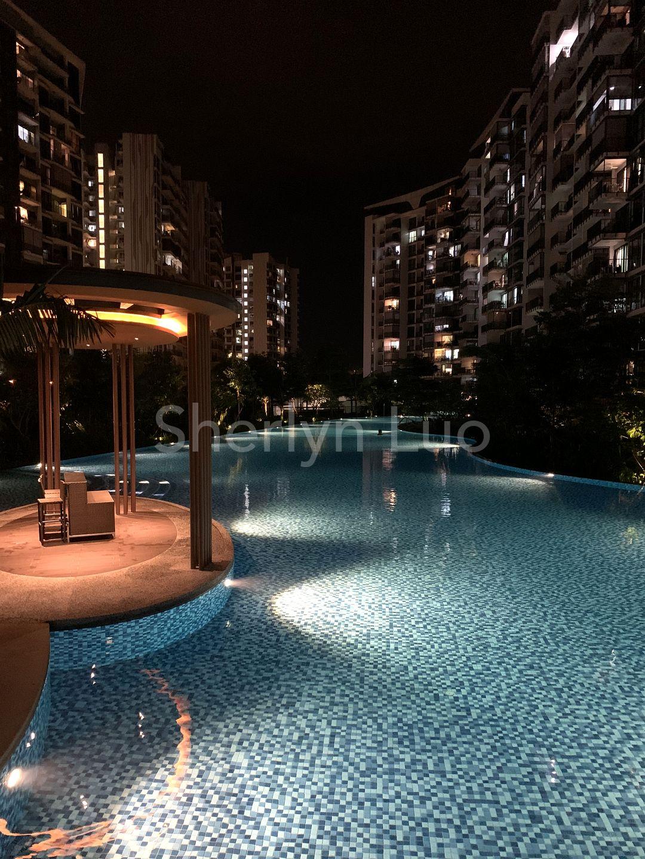 Pool view facing