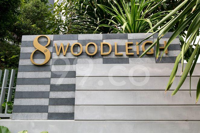 8 @ Woodleigh 8 @ Woodleigh - Logo