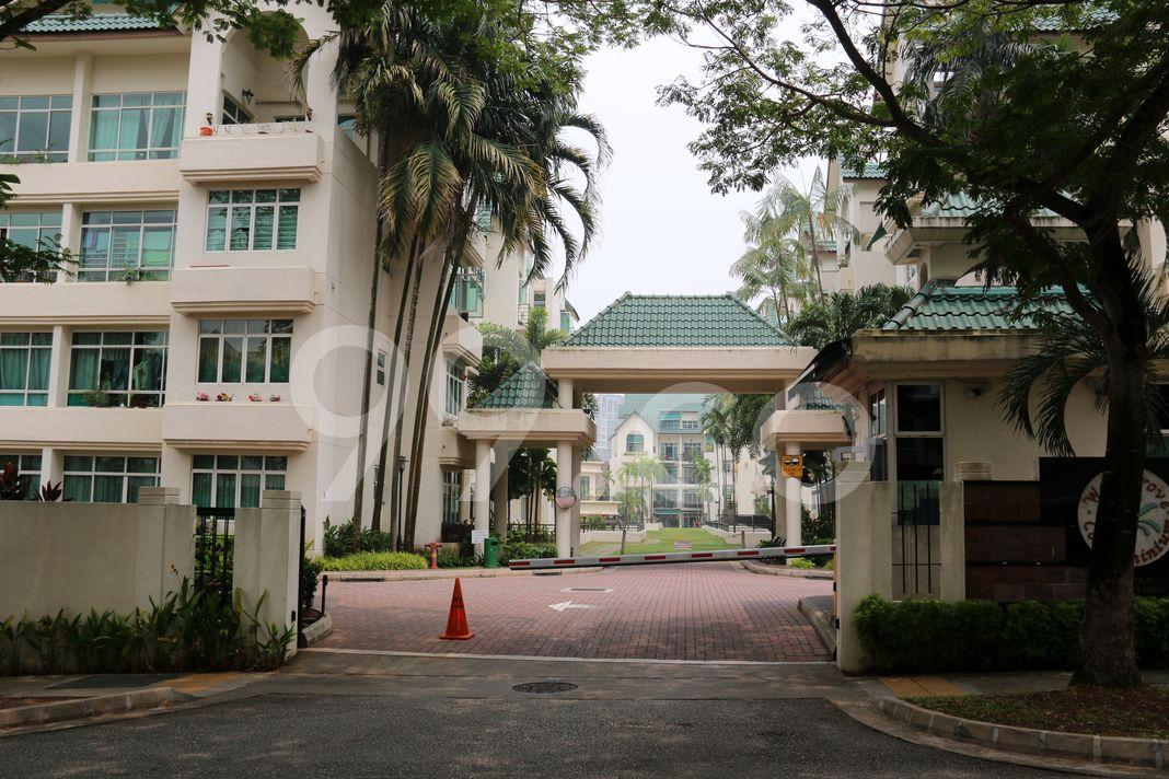 Woodgrove Condominium  Entrance