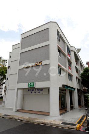 HDB-Jurong East Block 249 Jurong East