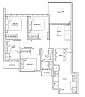 3 Bedrooms Type C1h