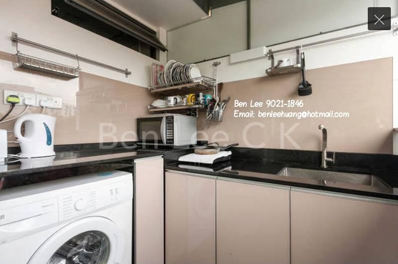 Sharing pantry wash machine, fridge, oven, microwave