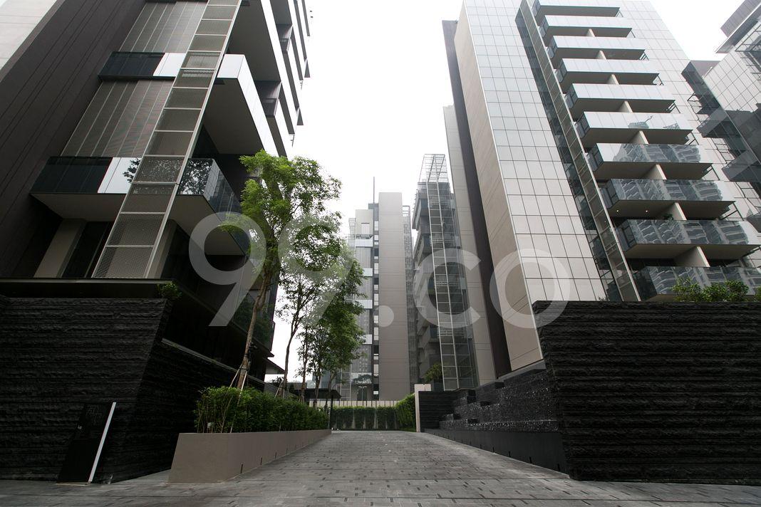 Leedon Residence  Entrance