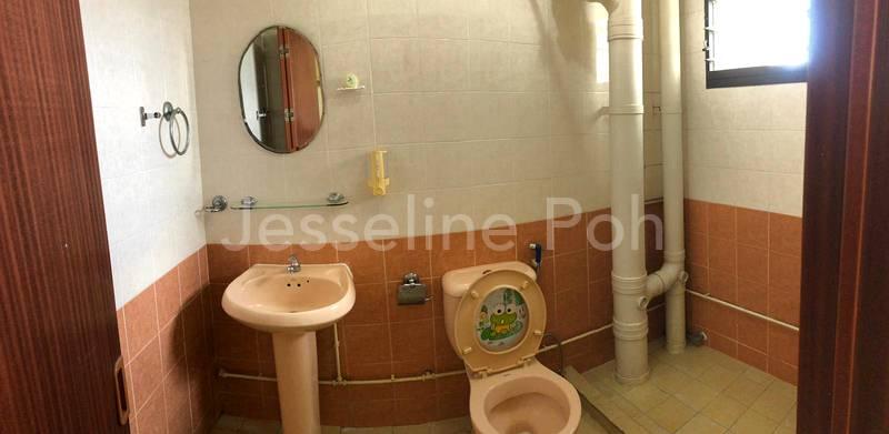 Clean Common Bathroom Sanitary.