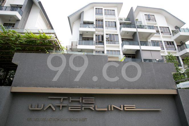 The Waterline The Waterline - Logo