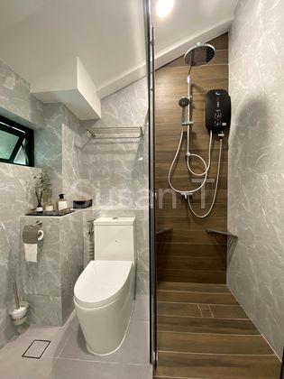 brand new bathroom