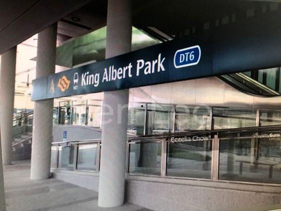 King Albert Pk MRT