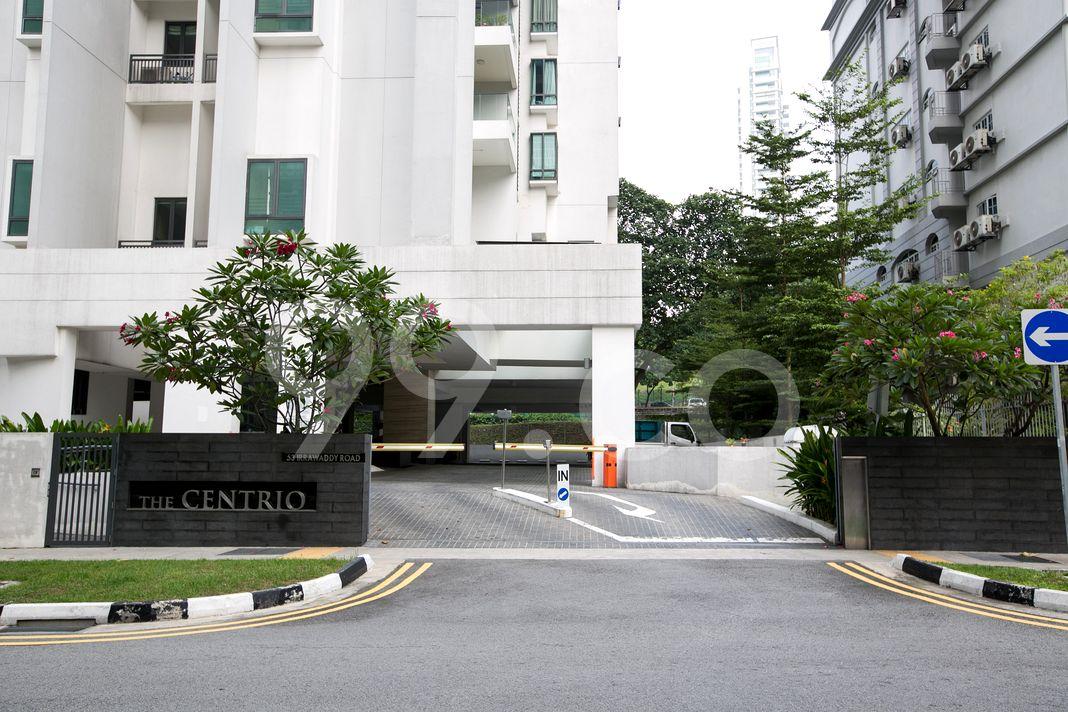 The Centrio  Entrance