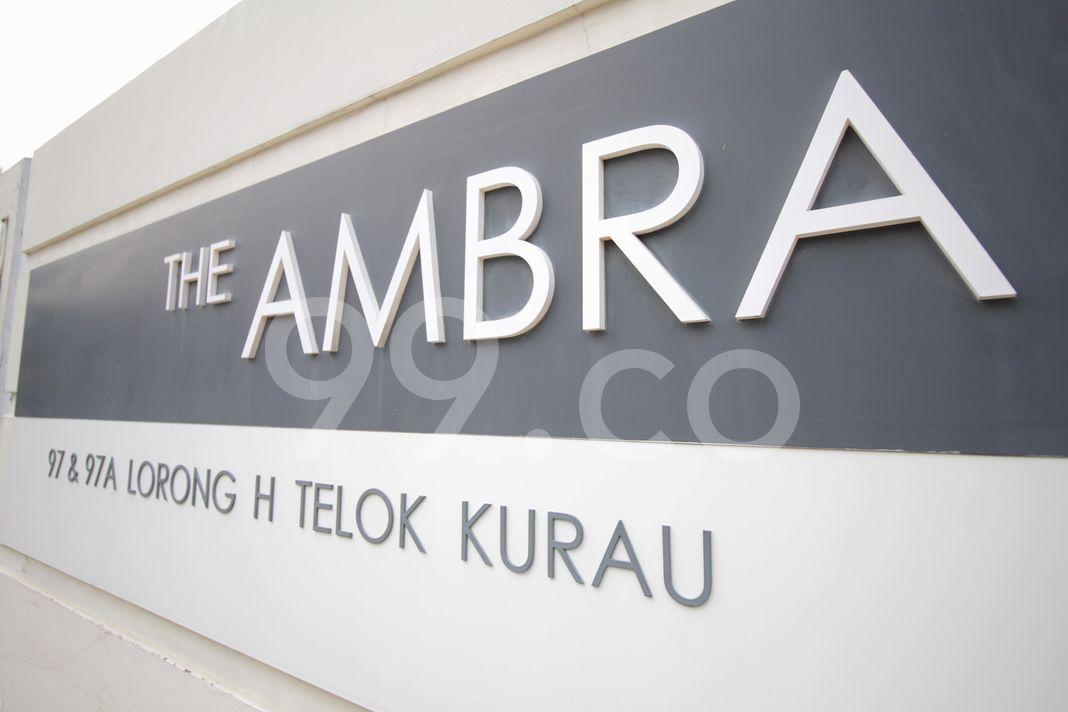 The Ambra  Logo