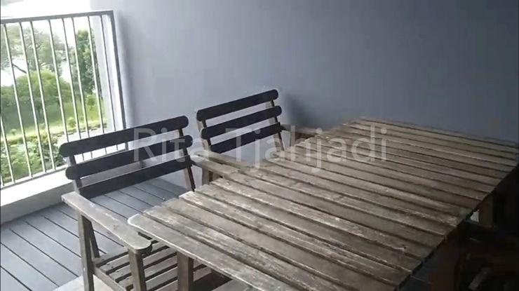 Outdoor furniture in balcony