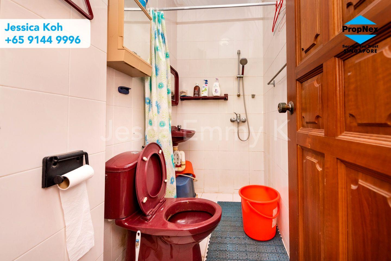 Washroom in the kitchen