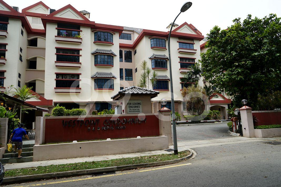 Westpoint Condominium  Entrance