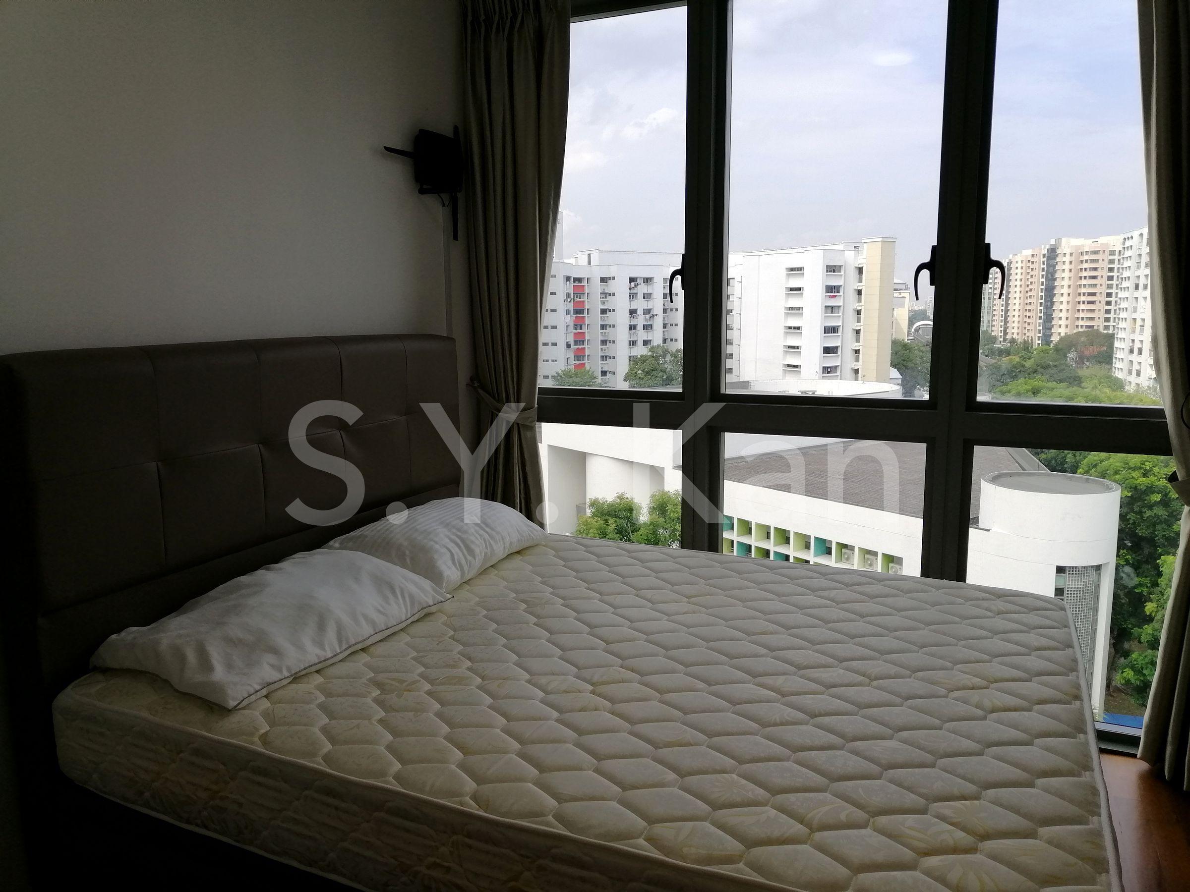 Tre residences (4 bedroom dual key) master bedroom