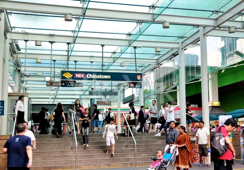 3 mins walk to Chinatown MRT