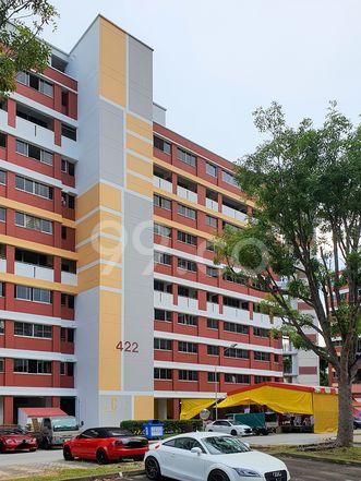 HDB-Hougang Block 422 HDB-Hougang