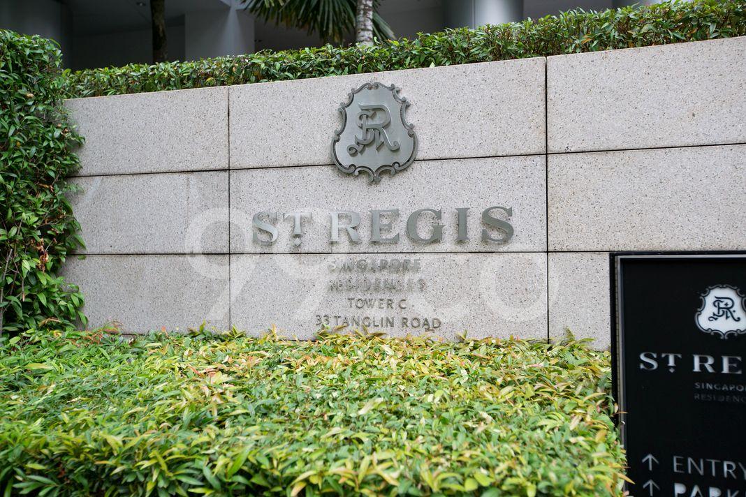 St. Regis Residences Singapore  Logo