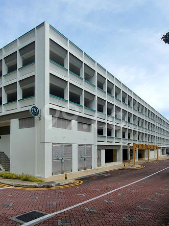 HDB-Hougang Block 575 Carpark HDB-Hougang
