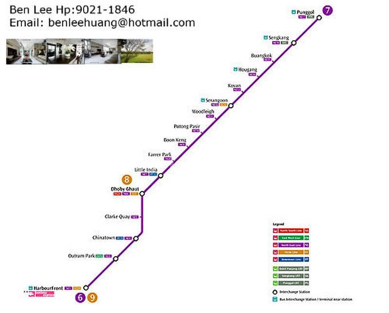 North East Purple line MRT