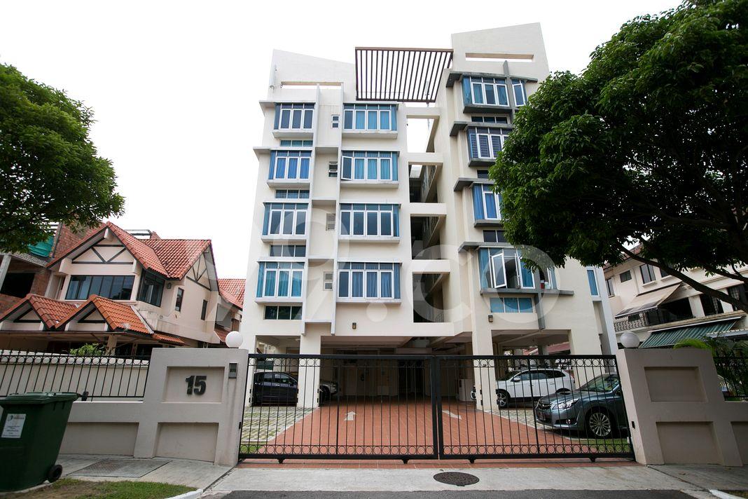 Breezy Mansions  Elevation