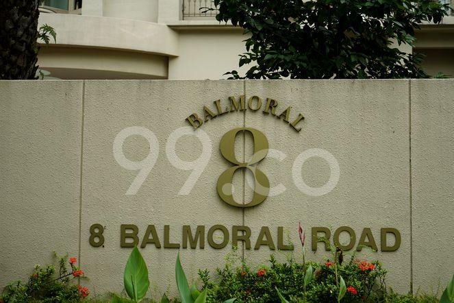 Balmoral 8 Balmoral 8 - Logo