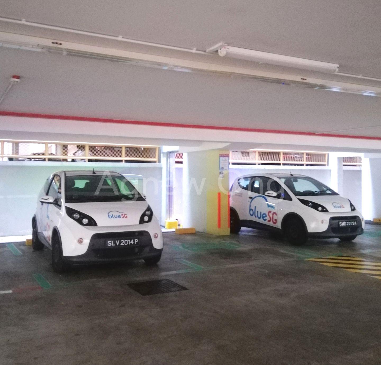 Car pool service at MCP