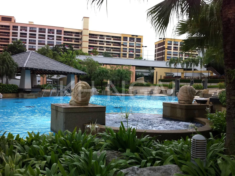 Bishan Loft's swimming pool