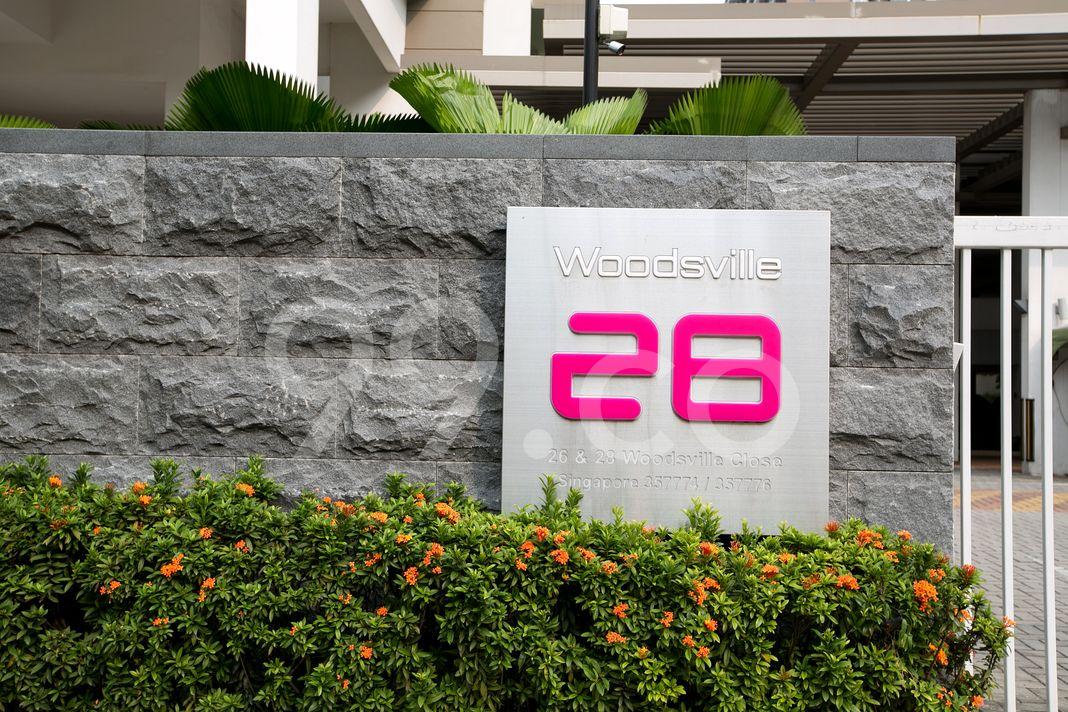 Woodsville 28  Logo