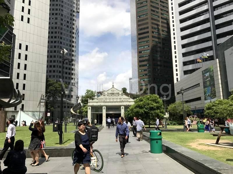 Walking distance to Raffles Place MRT