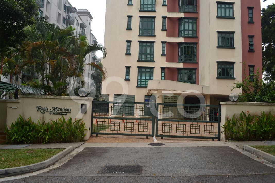 Regis Mansions  Entrance