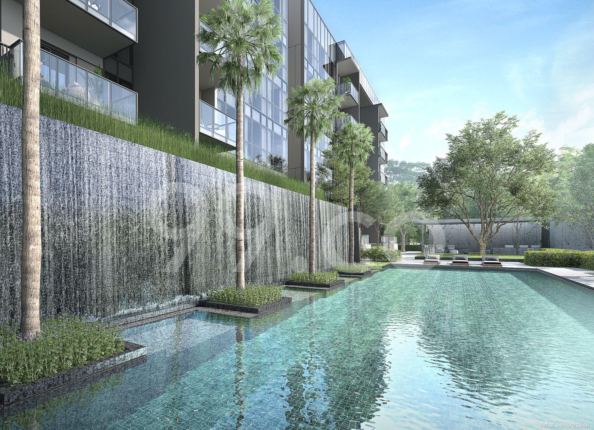 Forett @ Bukit Timah Pool