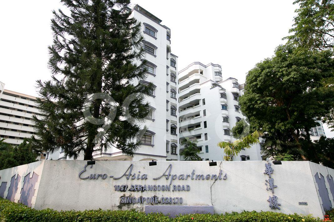 EuroAsia Apartments  Logo