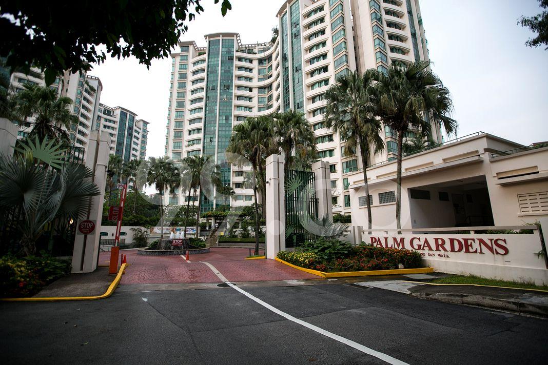 Palm Gardens  Entrance