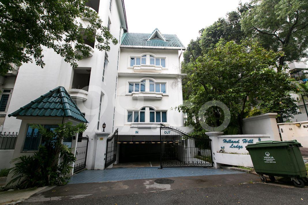 Holland Hill Lodge  Entrance