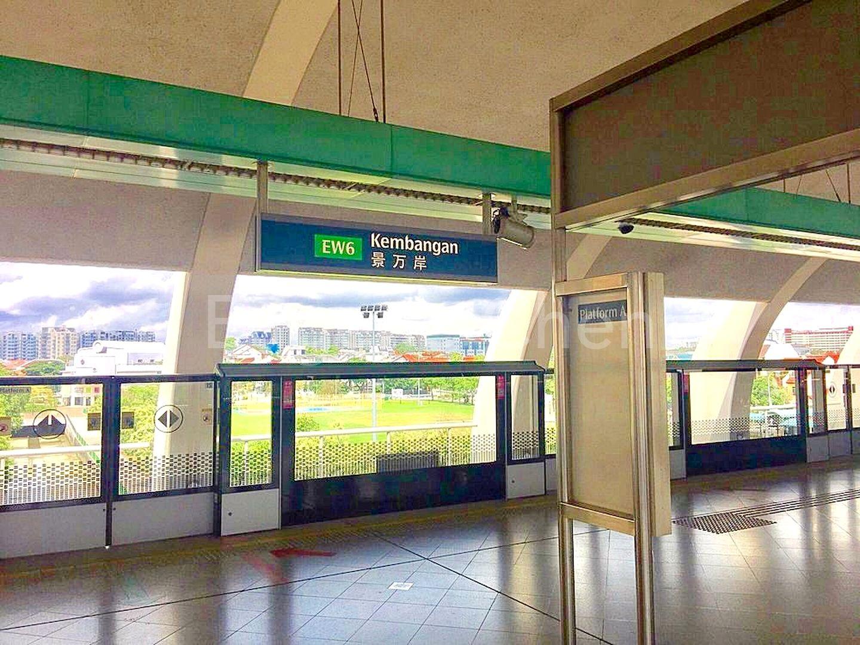 7-8 minutes by foot to Kembangan MRT station