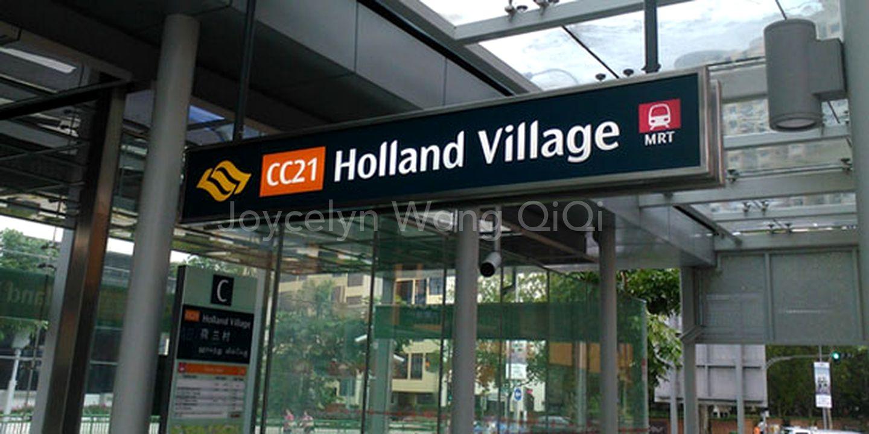 Walking distance to Holland Village / MRT